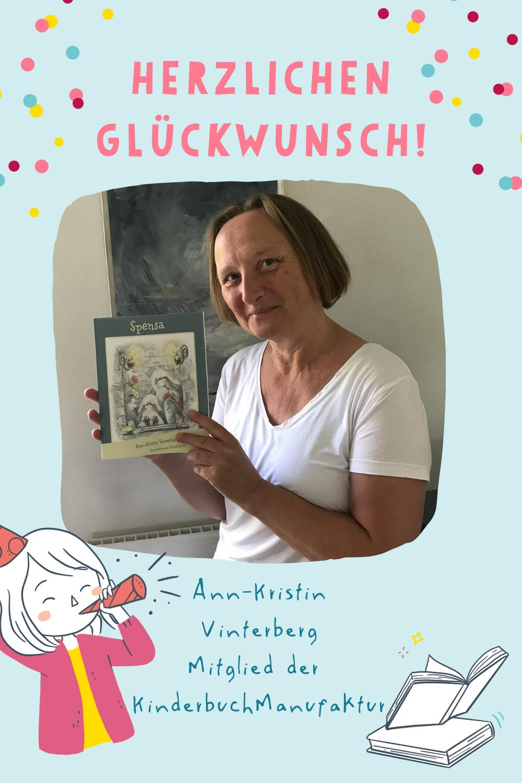 KinderbuchManufaktur Ann-Kristin Vinterberg neues Buch Kinderbuchautorin