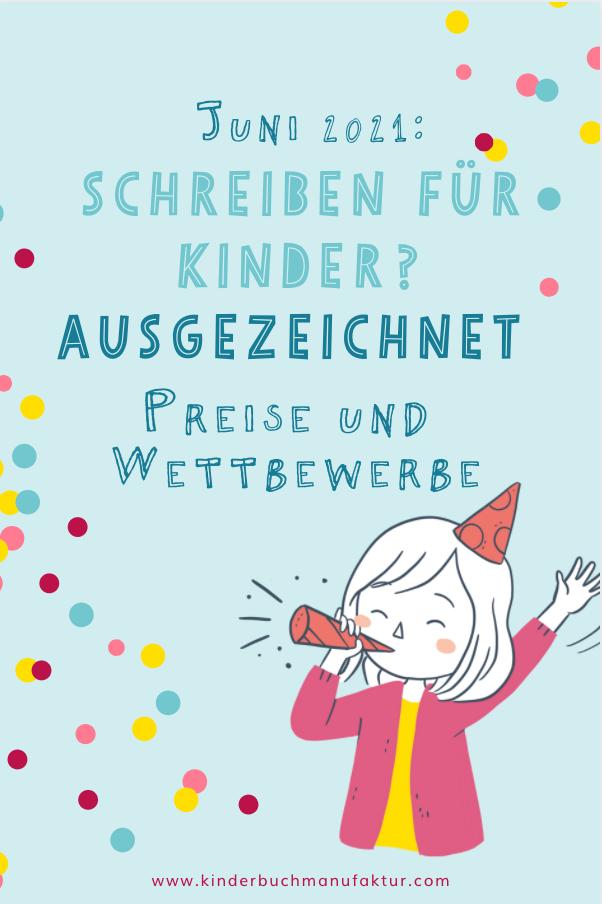 Kinderbuch schreiben Preise Wettbewerbe