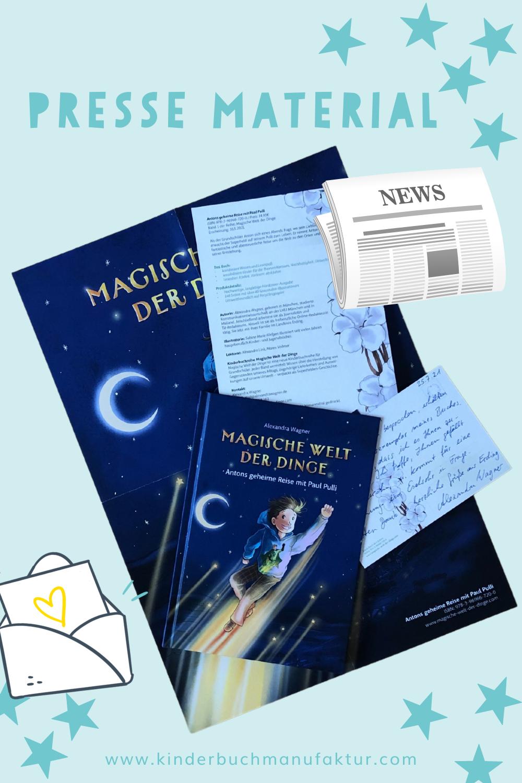 Buch PR Tipps Buchmarketing Kinderbuch Pressematerial