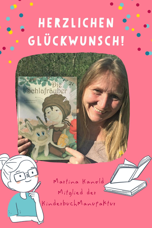 KinderbuchManufaktur Martina Kanold neues Buch Kinderbuchautorin