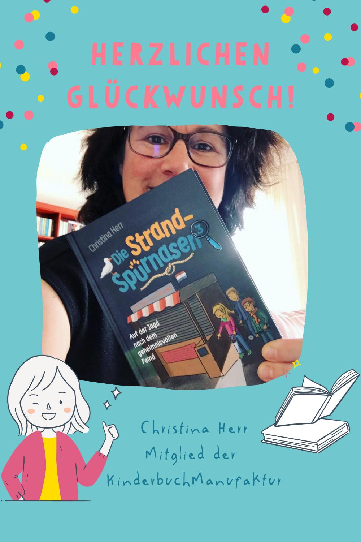 KinderbuchManufaktur Christina Herr neues Buch Kinderbuchautorin