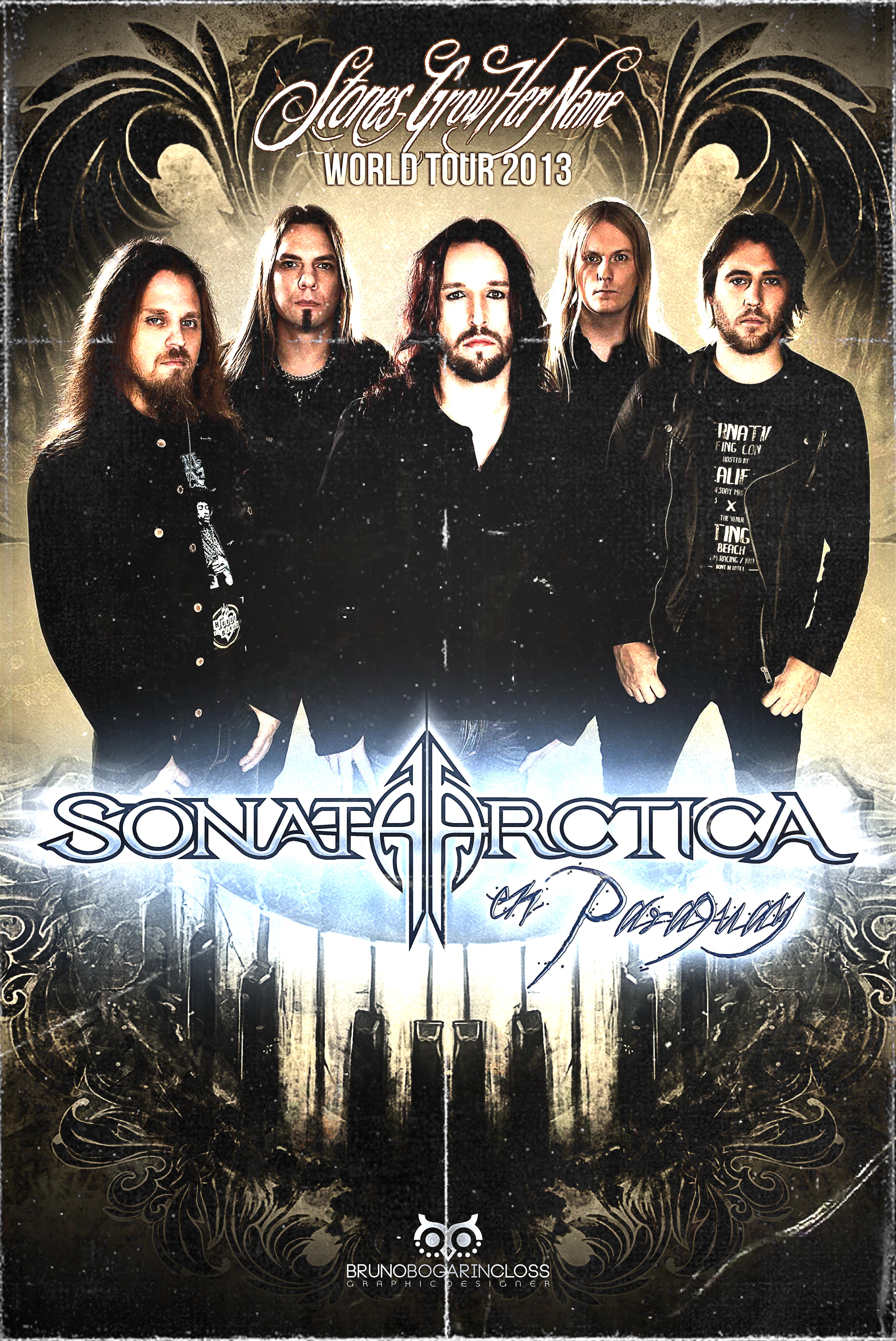 Sonata Arctica Show en Paraguay
