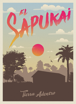 Arte digital para single ''El Sapukai'' Tierra Adentro