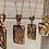 Thumbnail: Bracha Initial Pendant Necklace
