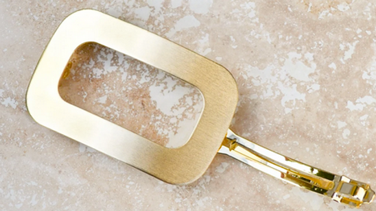 Rounded + Square Golden Clips