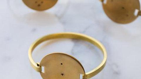 Zodiac Constellation Cuff