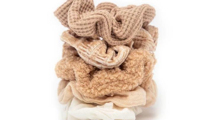 Kitsch Assorted Textured Scrunchie