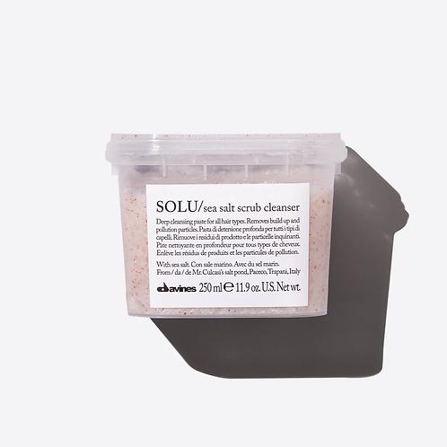 Solu Seas Salt Scrub Cleanser