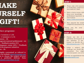 Make yourself a gift!