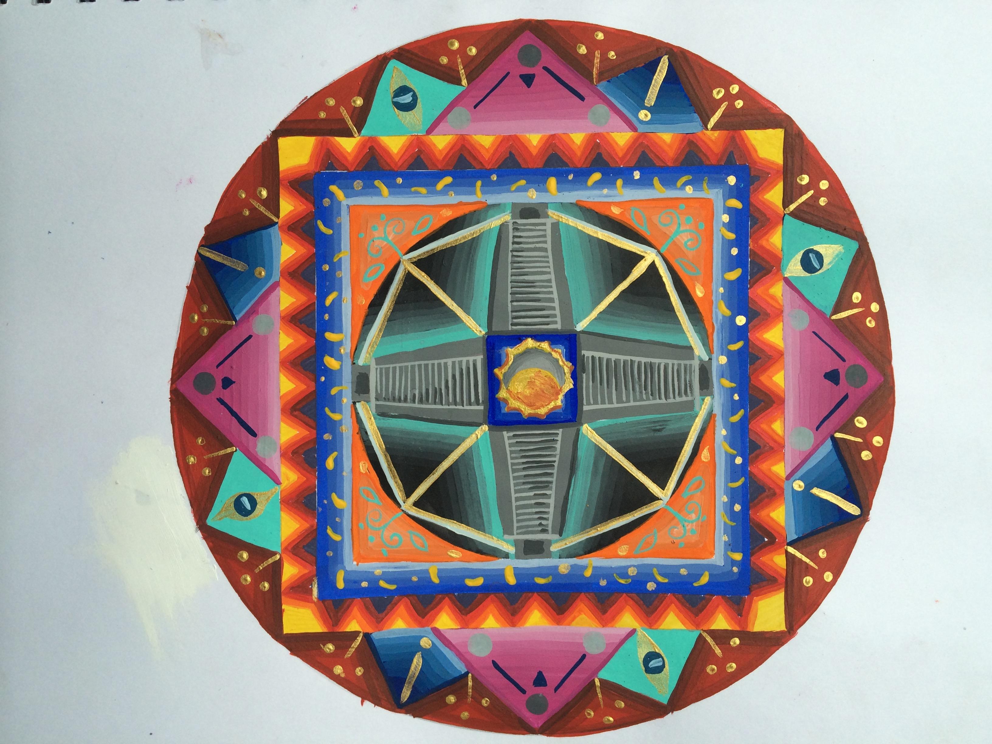 Mándala Piramides