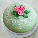 Traditional Green Princess Cake