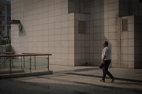 Walking, Archival print 28x18,6 cm