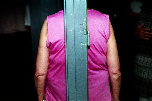 Pink back, Archival print 28x18,6 cm