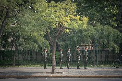 Soldiers, Archival print 28x18,6 cm