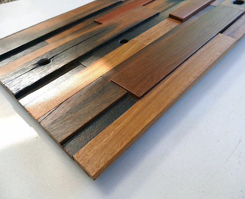 decorative wood wall tiles. *Price Is Per Tile. Vintage 3D Wood Wall Decorative Tiles E