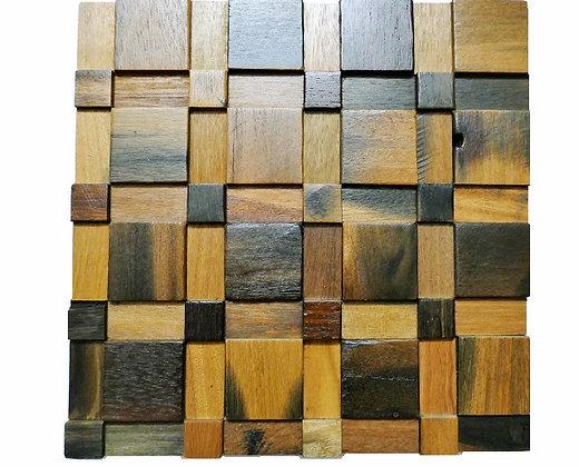 decorative wood wall tiles. Wood Mosaic Tiles, Wall Tile, Vintage Style 22 Decorative Tiles D