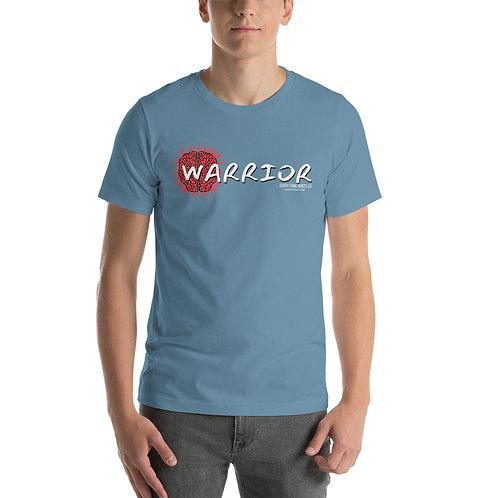 """""""Warrior Brain Injury Survivor"""" Short-Sleeve Unisex T-Shirt"""