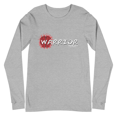 """Warrior"" Brain Injury: Unisex Long Sleeve Tee"