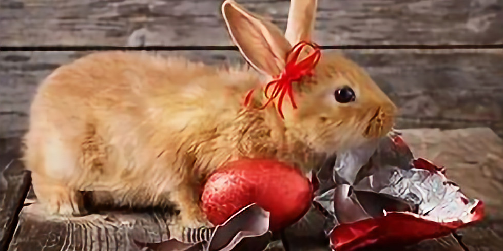 Eating with The Easter Bunny