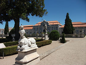 national palace of queluz, sintra