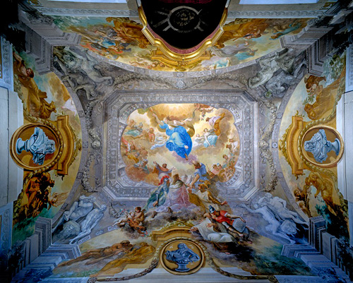 Ceiling of the Destination Room