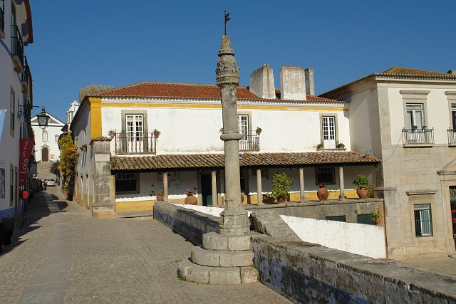 The pillory of Óbidos