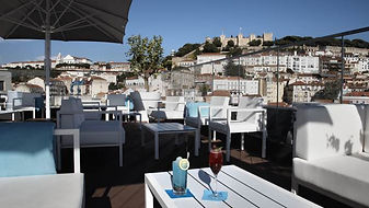 hotel mundial, lisbon rooftop bar