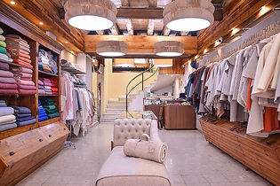 100% wool products, Lisbon store