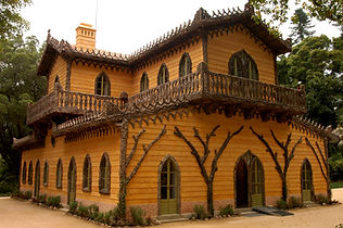 chalet of countess d'edla, sintra