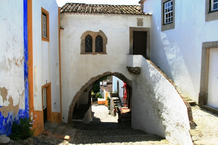 Medieval streets of Óbidos