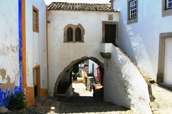 Medieval streets of Óbidos