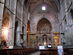 Évora Cathedral interior