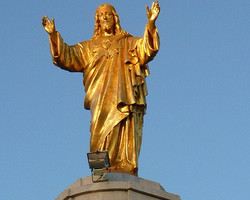 Monument to Sacred Heart of Jesus