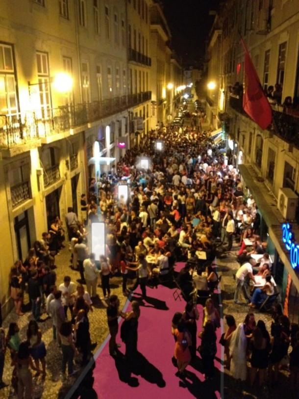 Cais do Sodré - Pink Street