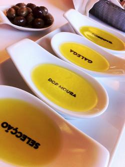 Esporão Olive Oil tasting