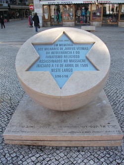 Memorial massacre of the Jews Lisbon