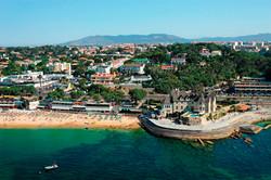 alonside the sea to Lisbon