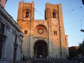 lisbon cathedral, sé