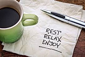 Rest Relax Enjoy