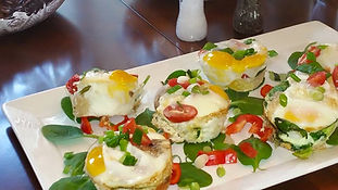 The Grayson Brunch Home Made Meals with Private NO BOARING Chef Eggs