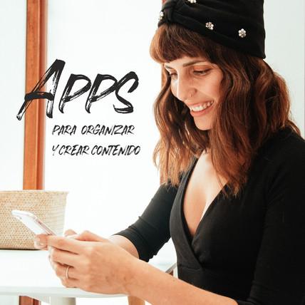 Guía de APPS para organizar tu contenido