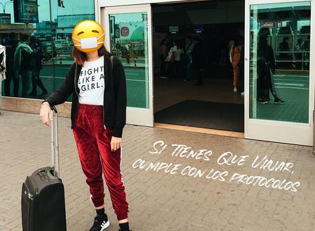 Protocolos para viajes nacionales