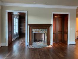 Mahogany Floors in Custom Build