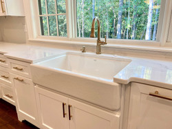 Farm Sink in Custom Home