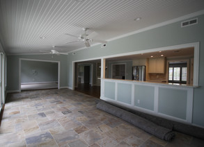 Room addition and house renovation