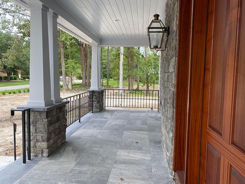 Bluestone Patio Entrance
