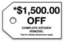$1,500 Off
