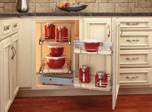 Pull-out Blind Corner by Rev-A-Shelf