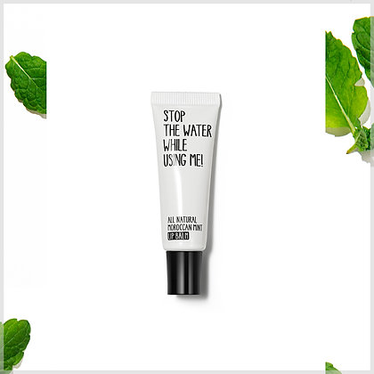 Baume pour les lèvres Menthe - stop the water while using me