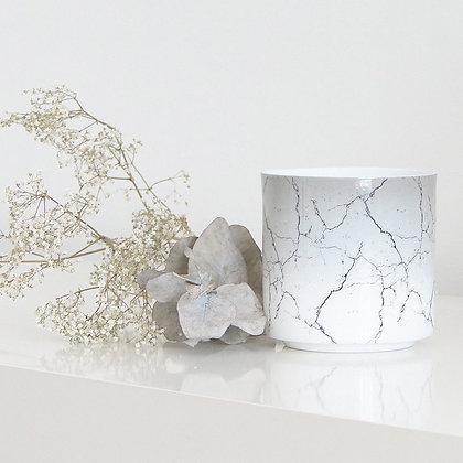 photophore design marbre en porcelaine fine